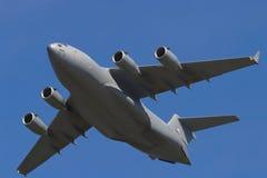Transportflugzeug C17-Globemaster Lizenzfreie Stockfotos