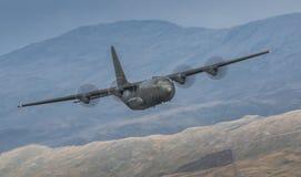 Transportflugzeug Herculues C130 Stockfotos