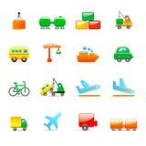 Transportikonen Lizenzfreie Stockfotos