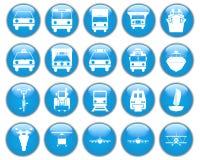 Transportikonen eingestellt lizenzfreie abbildung