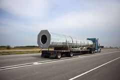 Transporting Cell Tower Royalty Free Stock Image