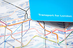 Transportkarte Lizenzfreies Stockbild