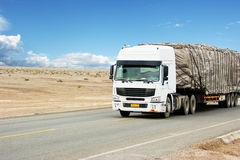 transportlastbil Fotografering för Bildbyråer