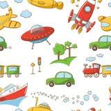 Transportmuster Lizenzfreies Stockfoto