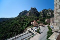 Transportnabe auf Montserrat in Spanien Lizenzfreies Stockbild