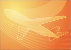 Transports aériens illustration de vecteur