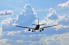 Transports aériens Photographie stock