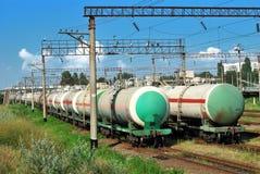 Transports tanks oil Stock Photo