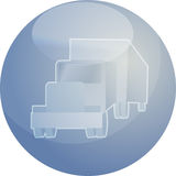 Transports terrestres de camion illustration de vecteur