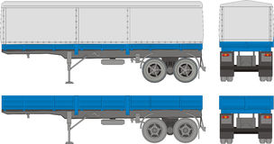 Transportschlußteil vektor abbildung