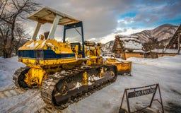 Transportu Śnieżnego pługu lemiesza fotografia obraz royalty free