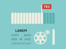 Transportu Infographic element Zdjęcia Stock