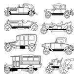 Transportu pojazdu ï ¼ ˆAntique samochody) Ilustracja Wektor