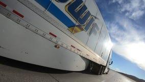 ` transportu ` Semi ciężarówki BŁYSKAWICZNA przepustka zbiory