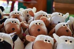 Transportwagen die Schafe Stockbild