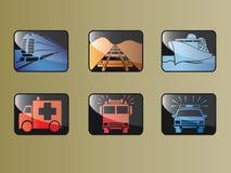 Transportzeichen Lizenzfreies Stockfoto