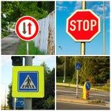 Transportzeichen Lizenzfreie Stockbilder