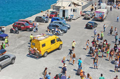 Transpotation d'île de la Grèce Images stock