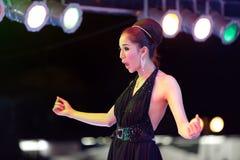 Transsexual thai singer Stock Images