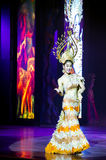 Transsexuals performs dancing at the Alcazar show Stock Photography