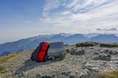 Transsilvanische Alpen, riefen auch Southern Karpaten an, von Vânatoarea-lui Buteanu die achte höchste Erhebung von Rumänien ang Lizenzfreies Stockfoto