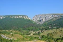 Transsylvanian βουνό, κορυφογραμμή, Turda στοκ εικόνες