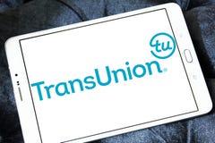 TransUnion information technology company logo royalty free stock photography
