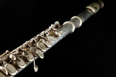 Transverse flute Royalty Free Stock Photos
