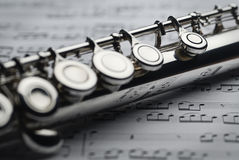 Transverse Flute Royalty Free Stock Photo