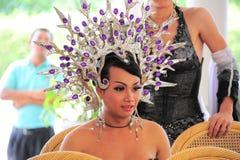 Transvestie cabaret Stock Images
