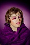 Transvestit Arkivbilder