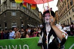 transvestit Royaltyfri Fotografi