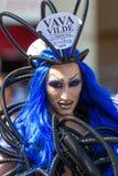 Transvestit på Christopher Street Day arkivbilder