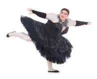 Transvestitdans i en ballerinakjol Royaltyfri Bild