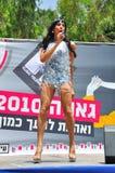 Transvestite singing royalty free stock photography