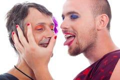Transvestites flirting stock images