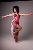 transvestitshowgirl Royaltyfria Bilder