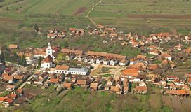 transylvania村庄 免版税图库摄影