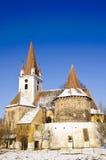 transylvania укрепленный церковью Стоковое фото RF