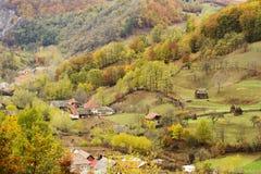 Transylvania autumn landscape Royalty Free Stock Photos