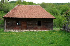 Transylvania Farm Shed Royalty Free Stock Photography