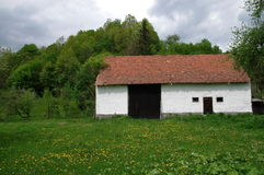 Transylvania Farm Shed Royalty Free Stock Images