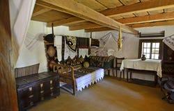Transylvania indoor wood Stock Image