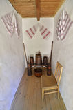 Transylvania inomhus korridor Arkivfoto