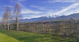 Transylvania landscape Stock Photo
