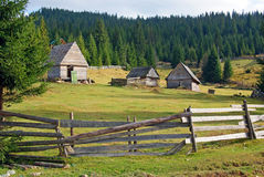 Transylvania mountain household Royalty Free Stock Images