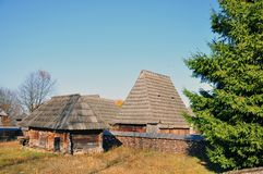 Transylvania old houses Royalty Free Stock Photos