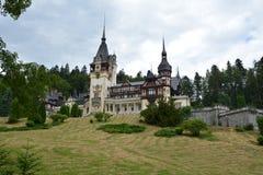 Transylvania Peles slott Arkivbilder