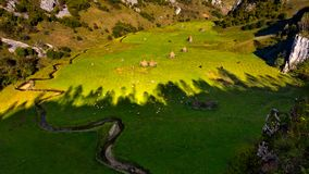 Transylvania remote village in the Carpathian mountains Royalty Free Stock Images