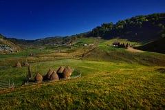 Transylvania remote village in the Carpathian mountains royalty free stock photo